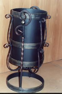 урна металлическая кованая д/мусора ассорт. изготовление на заказ...